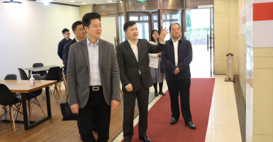 Visit of Sichuan International Exhibition Group